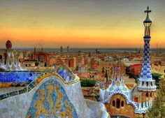 SCENIC PROPOSAL: sunset proposal from park guell (if sunset time is within open hours)