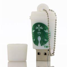 $5.99 - Funny Coffee Cup Model Usb 2.0 Memory Stick Flash Pen Drive 8Gb 16Gb 32Gb Hq61 #ebay #Electronics Starbucks Drinks, Starbucks Coffee, Mini Things, Cool Things To Buy, Funny Coffee Cups, Cute School Supplies, Apple Products, Usb Flash Drive, Usb Drive