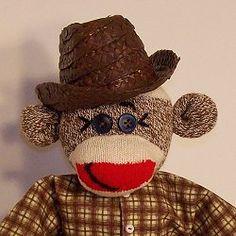 Dusty Layne Sock Monkey Ranch Foreman