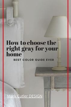 Choose the perfect gray for your home using this Ultimate Guide to color. A curated collection of our 5 favorite gray paint colors by celebrity interior designer. In depth information on light reflection, complementary colors and even a handy paint guide. Decor ideas for bedroom or kitchen cabinets. Benjamin Moore paint selections that are perfect for your dream home. The perfect gray paint color for any room in the house from deep Dior gray to light Stonington, get the right color that… Interior Design Videos, Famous Interior Designers, Benjamin Moore Colors, Benjamin Moore Paint, Grey Paint Colors, Choose The Right, Light Reflection, Room Paint, Luxury Homes