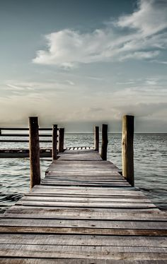I want to walk along this boardwalk and feel the wind on my face...
