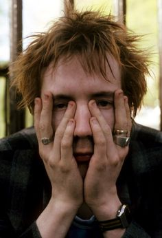 Johnny Rotten ( John Lydon ) from Sex Pistols and Public Image ltd. ( pil )