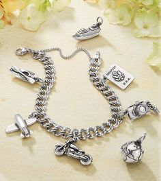 Travel Charms from James Avery Jewelry