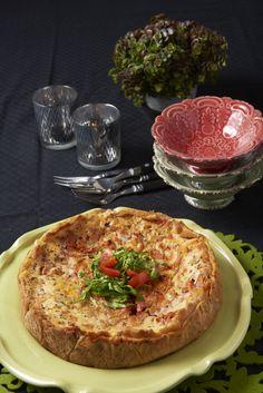 Recept | Annika Sjöö Lchf, Quiche, Breakfast, Inspiration, Food, Morning Coffee, Biblical Inspiration, Essen, Quiches