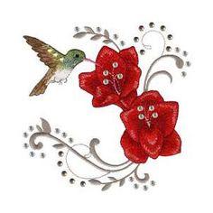 Glitz Wings - machine embroidery designs