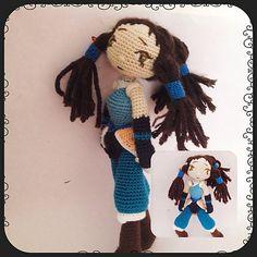 Crochet Pattern Avatar Korra Amigurumi Pdf - This is a Crochet Pattern Avatar Korra Amigurumi - pdf file . Size is approximately 25 cm. Supplies: The pattern uses hook and Microfiber Acrylic yarn. Copyright © 2016 All patterns are Amigurumi Patterns, Amigurumi Doll, Crochet Patterns, Half Double Crochet, Single Crochet, Crochet Supplies, New Dolls, Pretty Dolls, Crochet Dolls