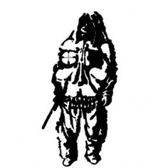 USMC Shadow Man Sniper Decal