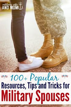 Great list of military spouse resources | Military wife | Military girlfriend | Military significant other | Military Family via @lauren9098