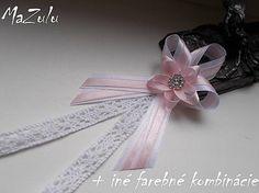 Wedding Things, Ribbons, Diy And Crafts, Wedding Flowers, Wedding Decorations, Weddings, Handmade, Ribbon Bows, Bias Tape