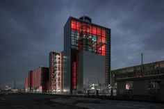 """""""Boss it might look a little eerie at night time."""" - I don't give a shit! Blood red lights throughout the factory!"""