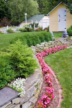 tier landscaping ideas   ... two level landscaping, dealing with a slope in the backyard landscape
