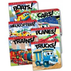 Big Busy Machines Set (set of 6)