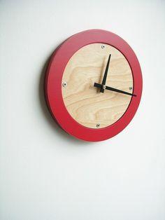 mod danish-inspired clock. so pretty.
