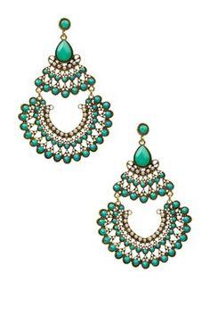 Egyptian Chandelier Earrings