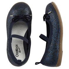 OshKosh Sparkle Ballet Flats