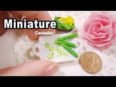 미니어쳐 오이 만들기 Miniature * Cucumber - YouTube