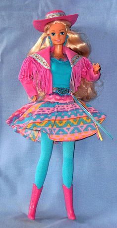 I had the black version of this doll, and I LOVED her! With my Barbie motor home! #80sBaby #90sKid