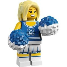 Lego Cheerleader. Let's go McNary let's go!