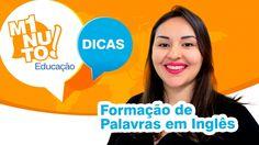 Já parou para pensar como são formadas as palavras em inglês? Saber um pouco mais sobre esse assunto pode nos ajudar a compreender melhor o idioma. Veja as dicas da professora de língua inglesa, Andressa Tezza e compartilhe!  Facebook Planneta: https://www.facebook.com/Planneta Facebook Vitae Brasil: https://www.facebook.com/VitaeBrasil Instagram Vitae Brasil: https://www.instagram.com/VitaeBrasil