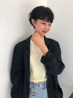 Pin on 헤어스타일 Pin on 헤어스타일 Black Girls Hairstyles, Short Hairstyles For Women, Straight Hairstyles, Cut My Hair, Hair Cuts, Short Hair Dos, Mullet Hairstyle, Chica Cool, Shot Hair Styles