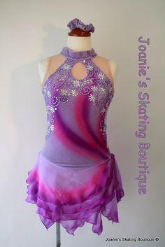 Figure skating dress