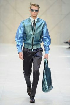 Burberry Prorsum colour is lovely, you can't doubt your fashion selection once you leave the house if you wear this.