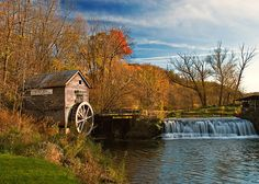 """""""Old Hyde Mill"""" by Todd Klassy on Flickr - OLD HYDE MILL, WISCONSIN"""