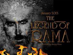 The Legend of Rama (2013) Movie First Look Poster   Hrithik Roshan & Aishwarya Rai