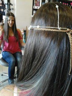 Tiara e trança by Carla Monteiro, cabeleireiros