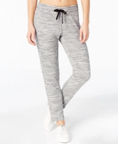 Calvin Klein Performance French Terry Skinny Pants - Gray XS