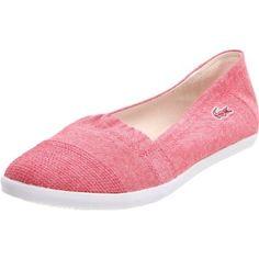 Lacoste Women`s Avron3 Fashion Sneaker,Red/White,5 M US $70.00
