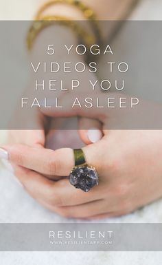 Sometimes depression and anxiety cause insomnia and make it hard to sleep.  Yoga…