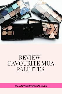 beccasloveforlife: Favourite MUA Eyeshadow Palettes - Guest post by Beauty Folio Beauty, Makeup, beauty products, MUA, eyeshadow palettes
