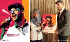 Maher Zain and His WPAP by setobuje.deviantart.com on @DeviantArt