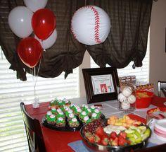 Tyler's baseball party