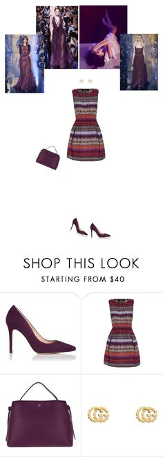 """""""Meeting"""" by hannahb33 ❤ liked on Polyvore featuring L.K.Bennett, Iska, Elie Saab, Etienne Aigner and Gucci"""