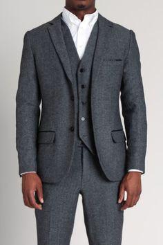 fashion men, 3piec suit, men fashion, herringbone, ash fashion