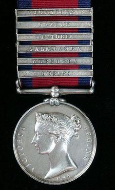 The Military General Service Medal 1793- 1814 Corunna, Badajoz