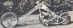 found on the net. super cool Honda long chopper