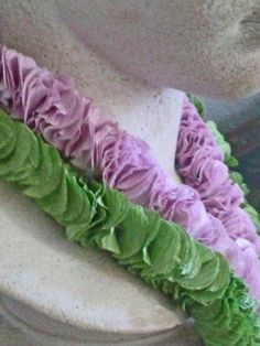 Potato Chip Crepe Paper Lei Necklace by wildabouthandmades on Etsy, $19.00