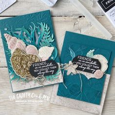 Hand Made Greeting Cards, Greeting Cards Handmade, Handmade Greetings, Friends Are Like, Cards For Friends, Nautical Cards, Beach Cards, Stamping Up Cards, Catalogue