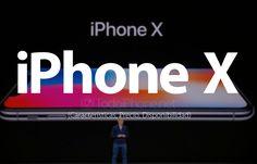 iPhone X, Apple presenta el futuro de los smartphones (Características, Precio, Disponibilidad) http://blgs.co/9RsISC