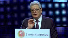 40 Jahre Bertelsmann Stiftung - Rede von Joachim Gauck Joachim Gauck, Movies, Movie Posters, Fictional Characters, 40 Years, Film Poster, Films, Popcorn Posters, Film Posters