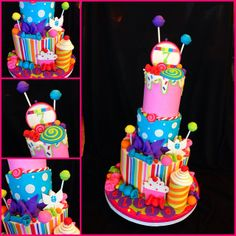 Candyland cake | Flickr - Photo Sharing!