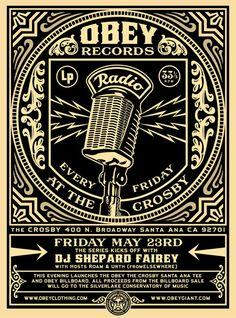 OBEY Records Radio