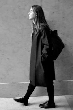 robe évasée Uniforme en lainage gris - VDJ