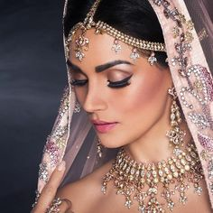 Makeup Indian Wedding.