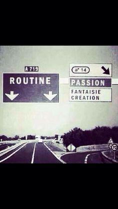 Tout est une question de la direction que l'on prend, et pas du véhicule que la vie nous a donné.. # time for a change                                                                                                                                                                                 Plus