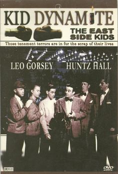 Kid Dynamite, The East Side Kids-DVD: Leo Gorsey, Huntz Hall-Fast, Funny Comedy-Set in the time period with a swing music and dance backdrop this is a fast paced fun comedy. DVD comes in original cardboard sleeve. Leo Gorcey, The Bowery Boys, Boxing Champions, The Way I Feel, Funny Comedy, West Side, Growing Up, Challenges, Dance