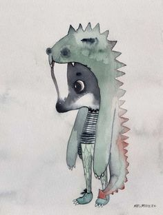 Mrs Mighetto//Children's Illustration